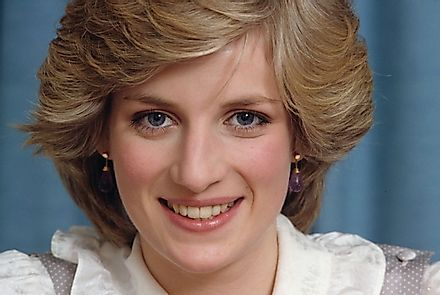 Princess Diana, one of the world's most photographed personalities, was known for her beauty, grace, and kind nature.