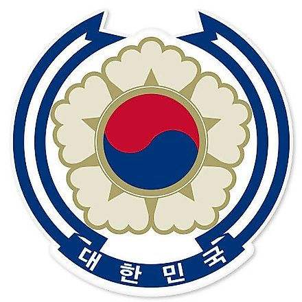 National Coat of Arms of South Korea