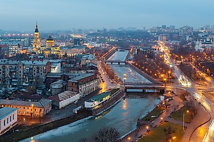 Kharkiv, a major city in Ukraine.