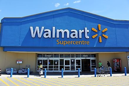 A Walmart location in Etobicoke, Canada. Editorial credit: Niloo / Shutterstock.com.