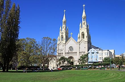 St. Peter and Paul Church in San Francisco, United States .