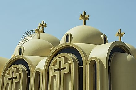 As Coptic Christianity originated in Egypt, the country has the largest population of Coptic Christians.
