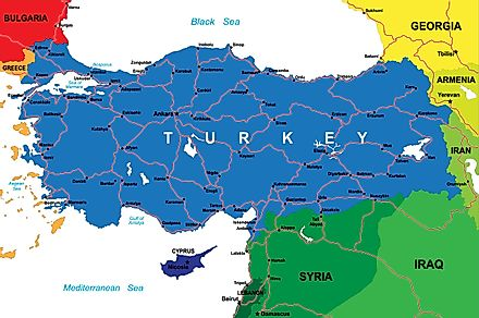 Turkey is an example of a transcontinental nation.