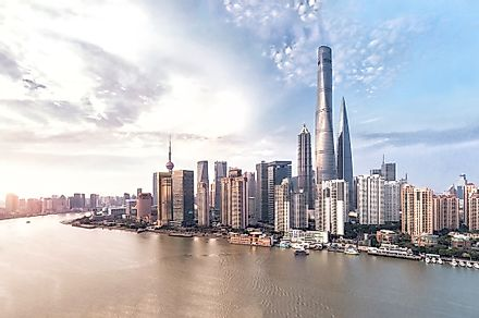 Shanghai Tower is the tallest skyscraper in China.