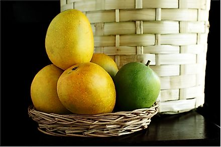 Alphonso is a seasonal mango fruit renowned for its sweetness and flavor.