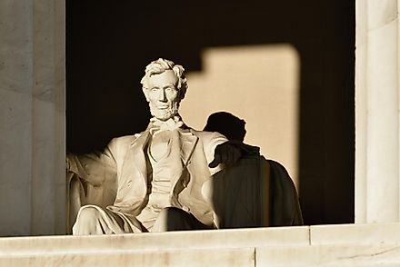 Abraham Lincoln Statue detail at Lincoln Memorial - Washington DC, United States. Image credit: Orhan Cam/Shutterstock.com