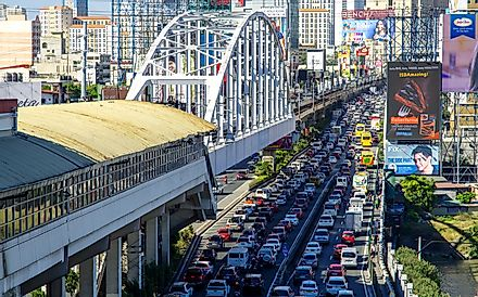 Manila is the most congested city in Asia. Kim David / Shutterstock.com.
