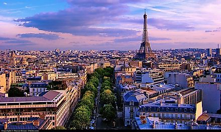 Paris, the capital city of France, houses some of the major attractions of the country like the Eiffel Tower.