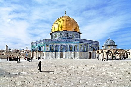 Temple Mount, the holiest of all sites in Judaism.