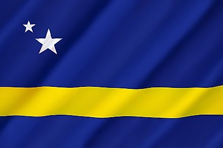 The flag of Curaçao.