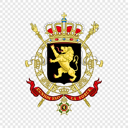 The National Coat of Arms of Belgium