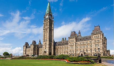 Parliament Hill is the home of the Canadian government.