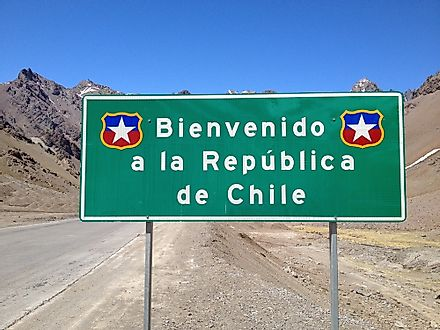 Chile is an example of a five letter country.