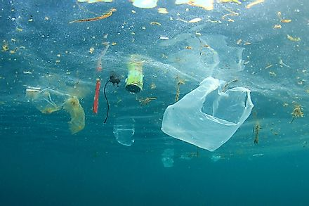 Significant levels of plastic pollution has ended up in the world's oceans.