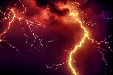 Thunderstorms are storms that are characterized by the presence of lightning and its sound, which is known as thunder.