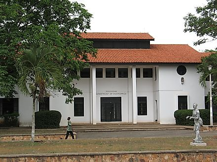 University of Ghana is both the oldest and the largest university in the country.