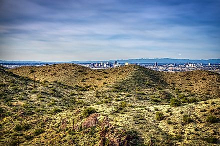 South Mountain Preserve, Phoenix. Image credit: antsdrone/Shutterstock.com