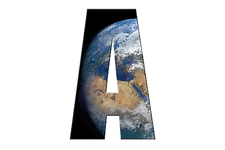 Of the 194 countries on Earth, 11 countries start with the letter A.
