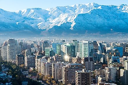 Santiago is one of several regions in Chile.