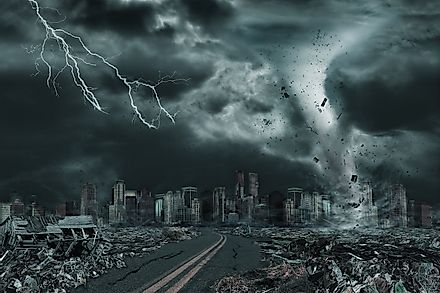 Time and again, natural disasters come to remind us of the extreme power of nature. Image credit: Ronnie Chua/Shutterstock.com