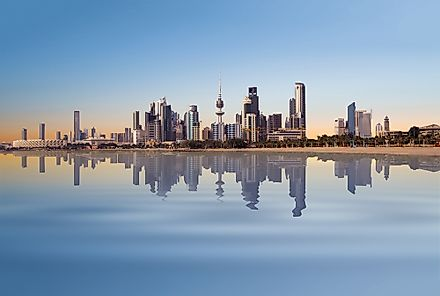 Kuwait City, Kuwait. Kuwait has one of the richest economies in the entire Middle East.