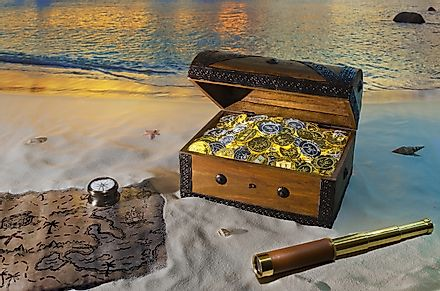 Treasure hunting stories have fascinated people since time immemorial. Image credit: Burden/Shutterstock.com