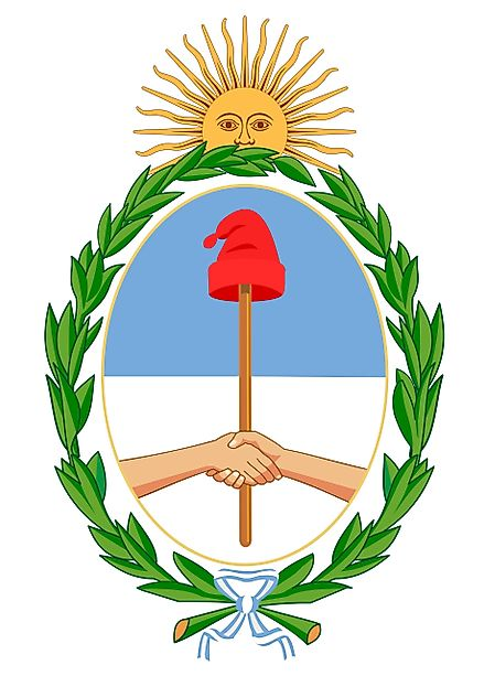 National Coat of Arms of Argentina
