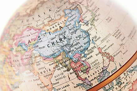 China has the highest number of international borders. Image credit: Anson_shutterstock/Shutterstock.com