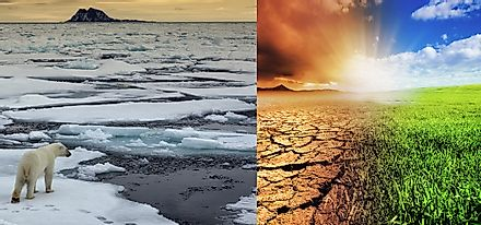 From melting sea ice to expanding deserts, climate change is leaving no part of planet Earth untouched.