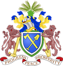 National Coat of Arms of the Gambia