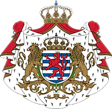 National Coat of Arms of Luxembourg