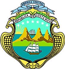 National Coat of Arms of Costa Rica