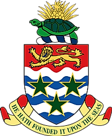 National Coat of Arms of Cayman Islands