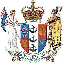 National Coat of Arms of New Zealand
