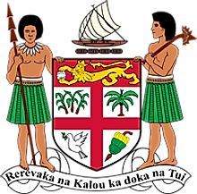 National Coat of Arms of Fiji