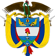 National Coat of Arms of Colombia