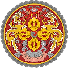 The National Coat of Arms of Bhutan