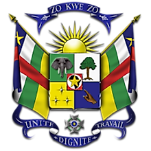 National Coat of Arms of Central African Republic