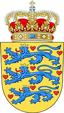 The National Coat of Arms of Denmark