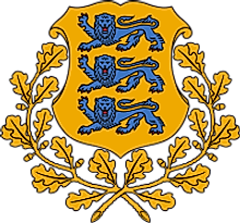 The National Coat of Arms of Estonia
