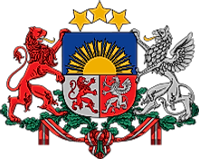 National Coat of Arms of Latvia
