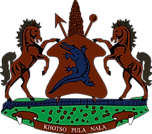 National Coat of Arms of Lesotho