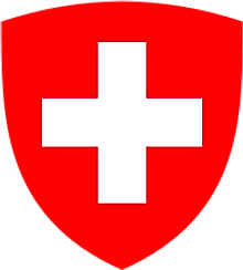The National Coat of Arms of Switzerland