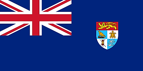 Former flag and government ensign of the Solomon Islands
