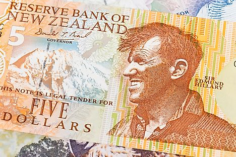 A 5$ New Zealand banknote is used as official currency in Tokelau
