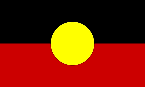 The Australian Aboriginal Flag is one of the official flags of Australia and represents Aboriginal Australians