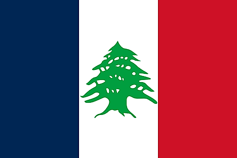 Flag used during the French Mandatate