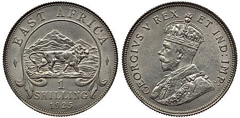 East African 1 shilling Coin