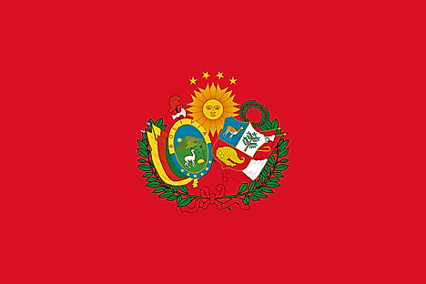 Flag of Peru-Bolivian Confederation.