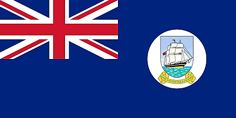Flag of British Guiana (1955–1966)